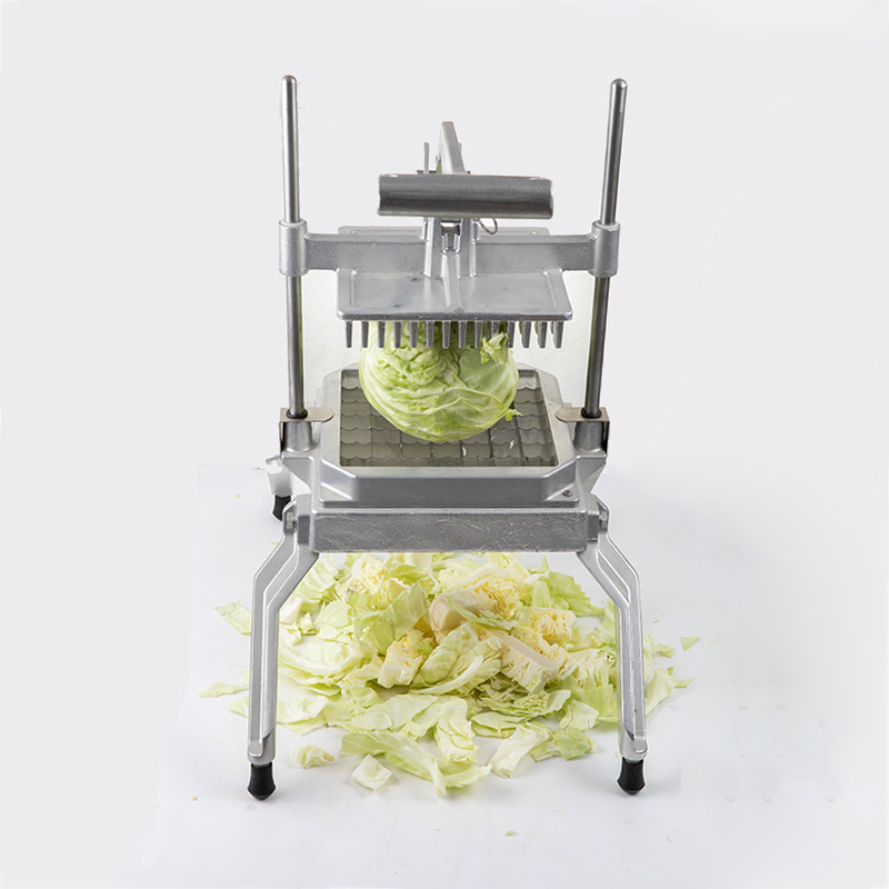 Commercial cast aluminum vertical lettuce cutter