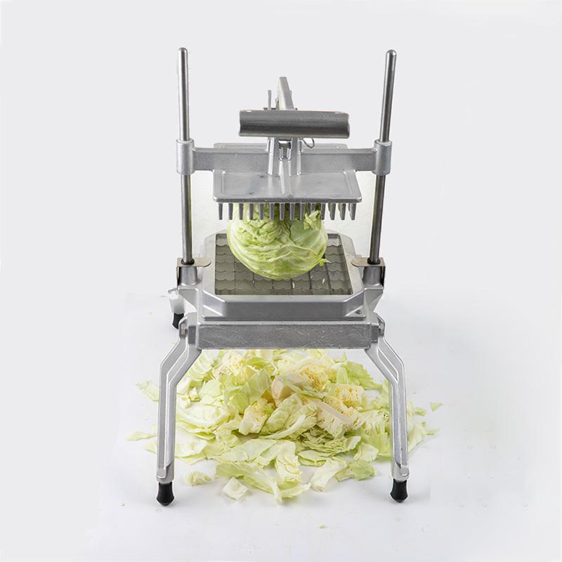 Commercial cast aluminum vertical lettuce cutter