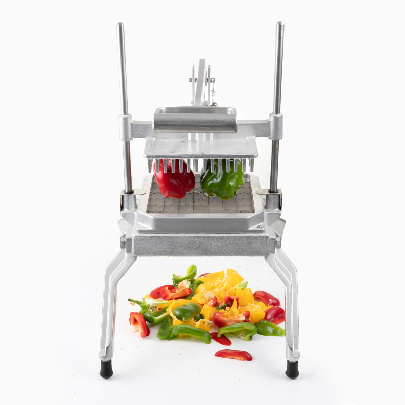 Durable commercial lettuce cutter cutting pepper, vegetable chopper